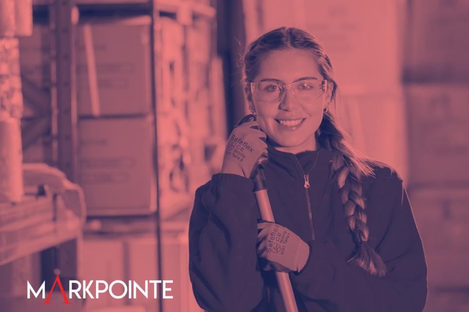 Temp to hire Markpointe Staffing Employment Agency working women safeflex